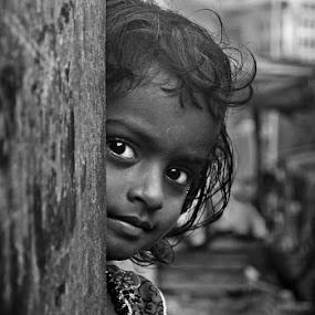 by Sudharshun Gopalan - Babies & Children Children Candids ( child, slum, gopalan, street, sudharshun, india, people, portrait, chennai, kid, eyes )