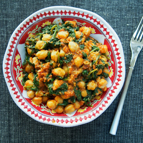 Spanish Chickpeas And Spinach