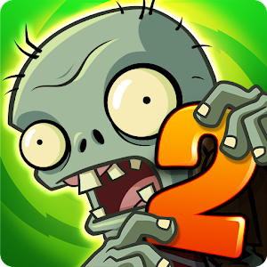 Cover art Plants vs. Zombies 2