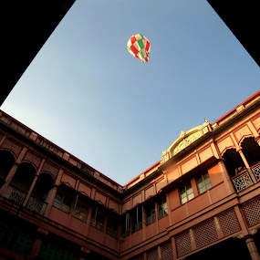 Hot Air Balloon by Protim Banerjee - Novices Only Objects & Still Life ( home, tradition, balloon )