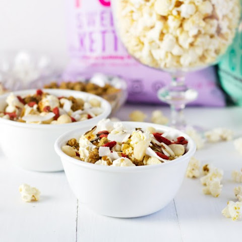 Game Day Popcorn Party Mix