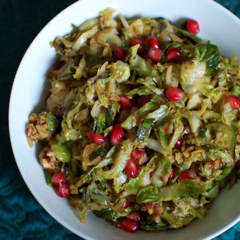 Mustard Maple Brussels Sprouts