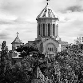 Georgia. Tbilisi. Sameba cathedral. by Galust Arabyan - Buildings & Architecture Other Exteriors ( sameba, georgia, тбилиси 2014 )