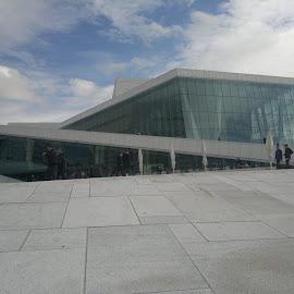 Oslo opera by Tor Espen S Ovesen - Buildings & Architecture Public & Historical ( landmark, oslo, opera, architecture, norway )