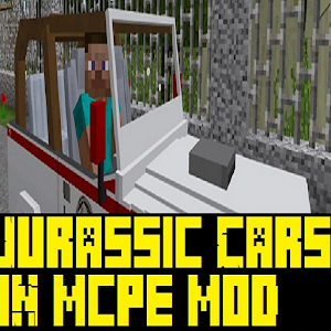 Download Mod MCPE: New Cars In Jurassic Craft v2 2017 for PC