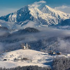 Sveti Tomaž by Milan Mihalič - Landscapes Mountains & Hills