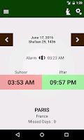 Screenshot of Ramadan 2015
