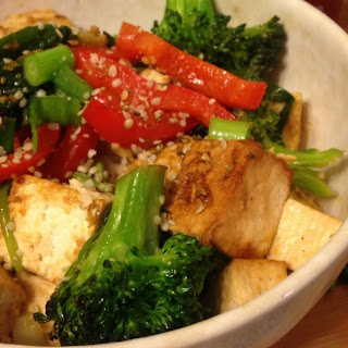 Ginger-Garlic Tofu Stir-Fry