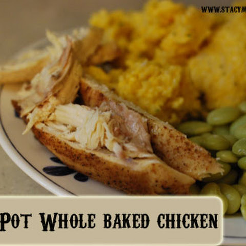 Crock Pot Whole Baked Chicken