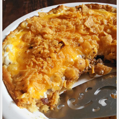 Chili Frito Crescent Pie