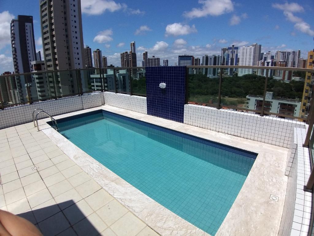 Apartamento Mobiliado com 2 dormitórios à venda, 57 m² por R$ 340.000 - Tambaú - João Pessoa/PB