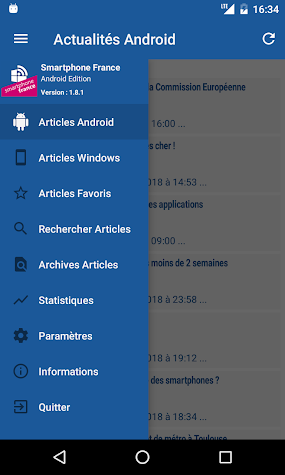 Smartphone France Screenshot