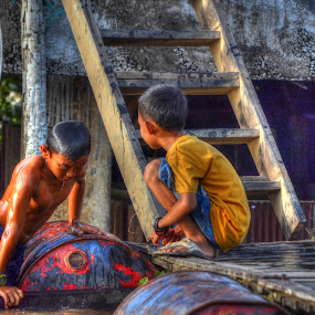 Borneo Kid by Handy Nordy Fariza - People Street & Candids