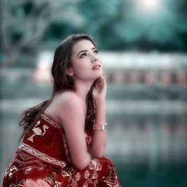 diana by Budiono Nyoman - People Portraits of Women ( #models #beauty #soft #lombok #potrait )