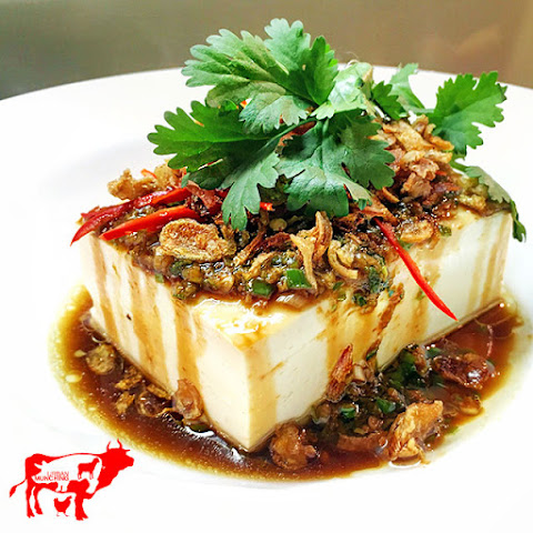 Steamed Silken Tofu