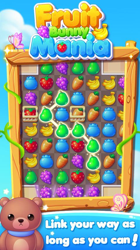 Fruit Bunny Mania Screenshot 0