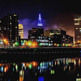 by Jeffrey Goodman - City,  Street & Park  Skylines