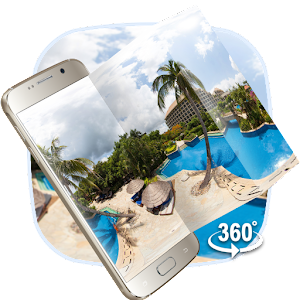 Download VR Panoramic Summer Sea Island 3D Theme for PC