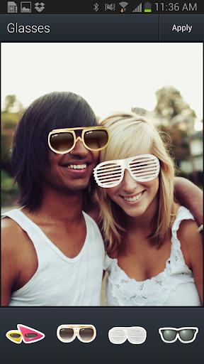Aviary Stickers: Glasses screenshot 2