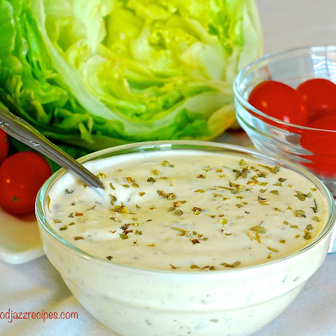 Homemade Creamy Italian Dressing