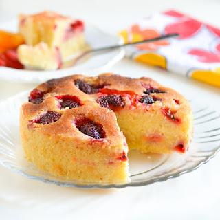Orange Strawberry Cake Recipes