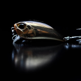 Lure on black  background by Nikola  Pejcic - Artistic Objects Other Objects