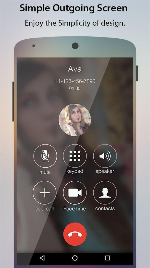Caller Screen Dialer Pro Screenshot 1