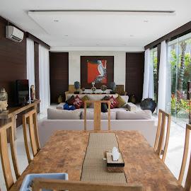 living room by Loh Jiann - Buildings & Architecture Homes ( bali, home, villa, ungasan, living room )