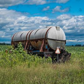 Tanker by Josh-Bojo Bojanowski - Landscapes Prairies, Meadows & Fields (  )