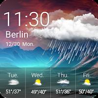 Weather & Clock Widget For PC