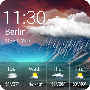Download Weather & Clock Widget