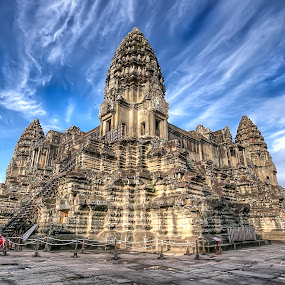 Angkor Wat Temple by Lolit Whorlow - Buildings & Architecture Public & Historical ( famous landmarks )
