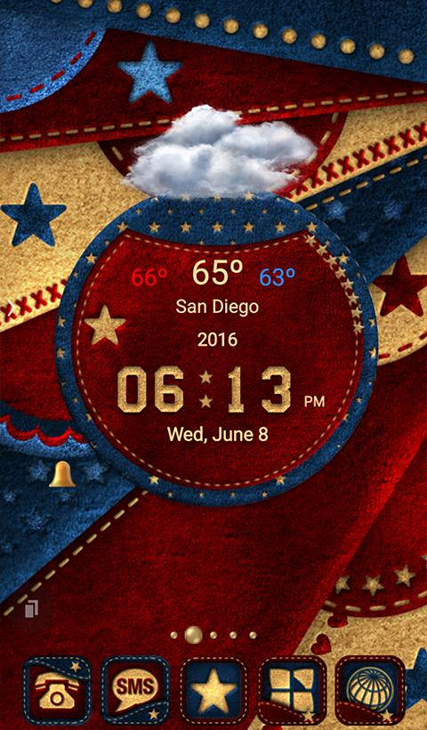 TSF NEXT AMERICAN THEME 4 JULY Screenshot 0