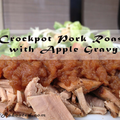 Gluten-Free Pork Roast with Apple Gravy