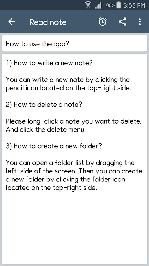 ClevNote - Notepad, Checklist Screenshot 2