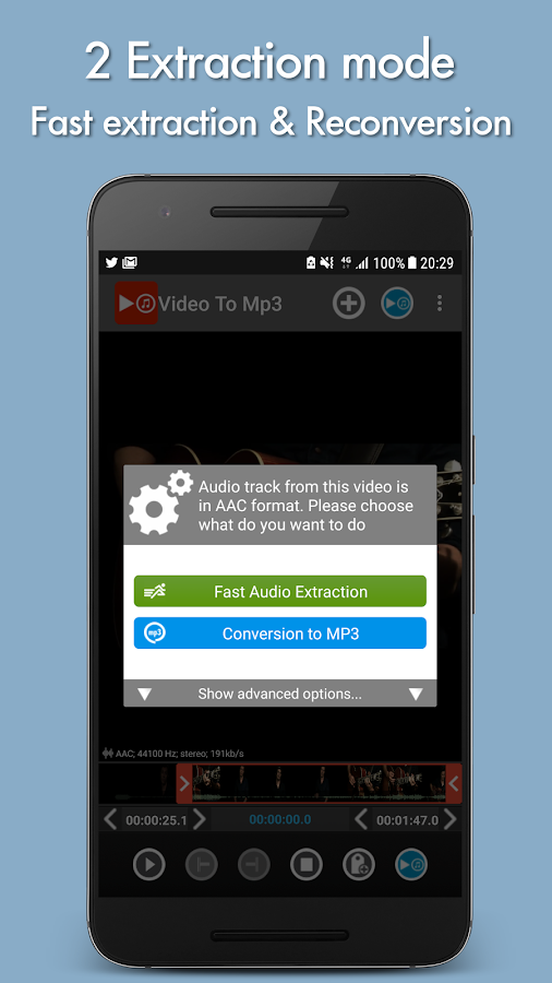 Video to mp3 Screenshot 1