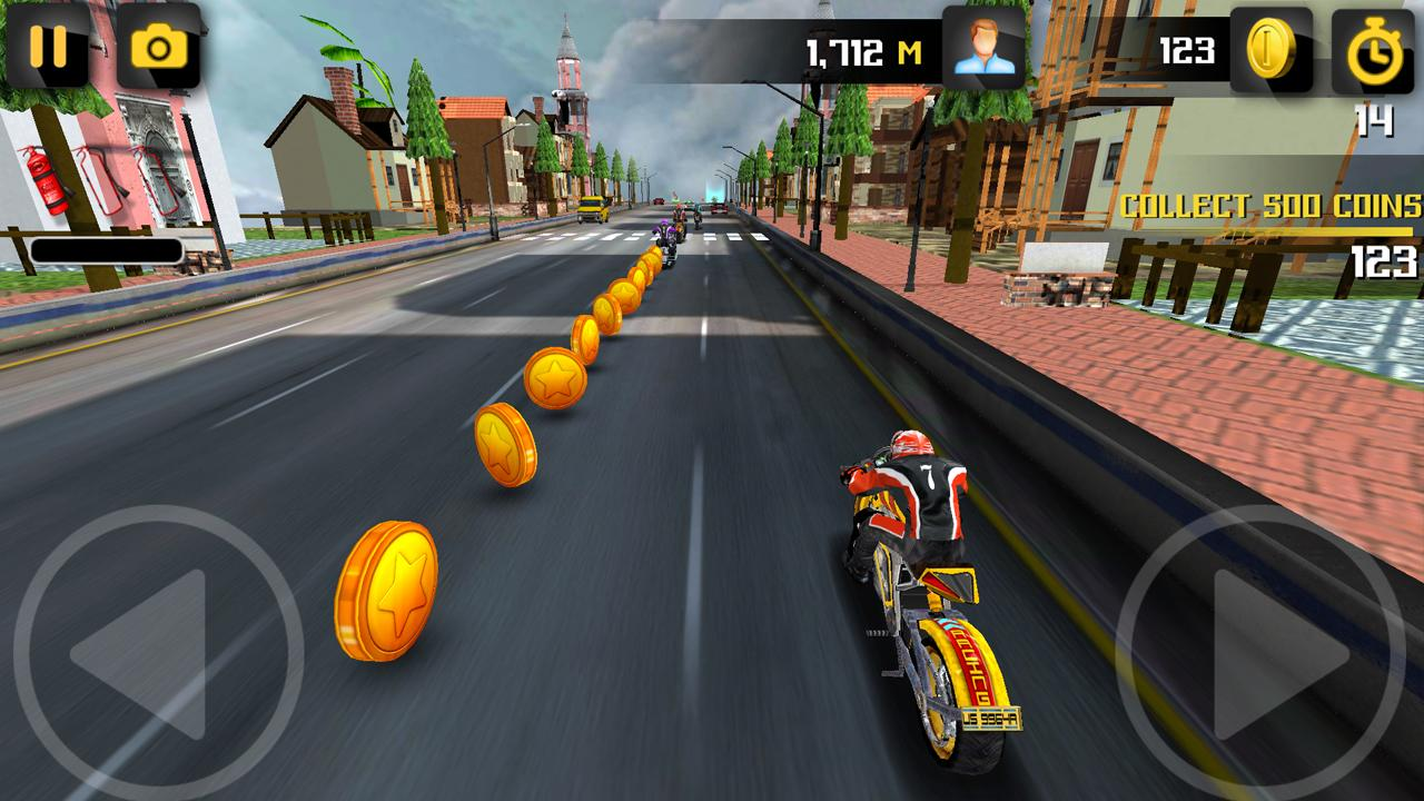 Turbo Racer - Bike Racing Screenshot 2