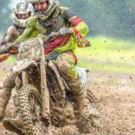 Rainy motos by Josh Rud - Sports & Fitness Motorsports ( mud, motorbike, motocross, offroad, moto, sports, motorcycle, mx, rain )