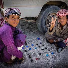 Bedouin play. by Darijan Mihajlovic - Babies & Children Children Candids (  )