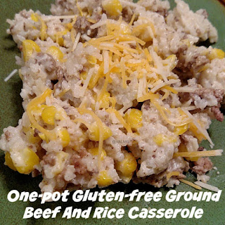 One-Pot Gluten-free Ground Beef And Rice Casserole