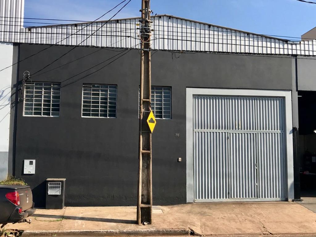 Galpão comercial à venda, Amoroso Costa, Uberaba - GA0035.