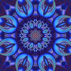 Fractal kaleidoscope, mandala 9 by Cassy 67 - Illustration Abstract & Patterns ( digital, love, harmony, art, abstract art, mandala, abstract, fractals, digital art, kaleidoscope, modern, light, fractal, energy )