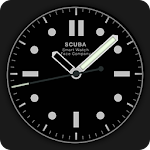 Scuba Diver Watch Face Icon