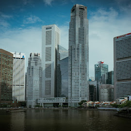 Singapore: Central Business District by Matthew Sturgess - Buildings & Architecture Office Buildings & Hotels