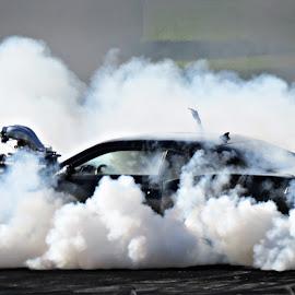 Burnouts by Teodora Motateanu - Sports & Fitness Motorsports ( automobile, cars, motorsport, car, burnout )