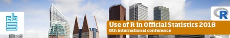 The use of R in official statistics conference 2018