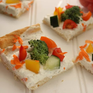 Cold Veggie Pizza Bites