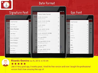 Auto Stamper: Timestamp Camera APK for Bluestacks