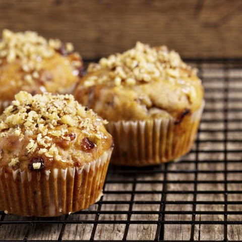 Banana, Date, and Nut Muffins