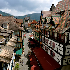 French Village in Malaysia by Mishesh Ramesh - Buildings & Architecture Office Buildings & Hotels ( hill, village, malaysia, french, hotel )